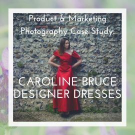 Featured post header for product & marketing photos of Caroline Bruce dresses