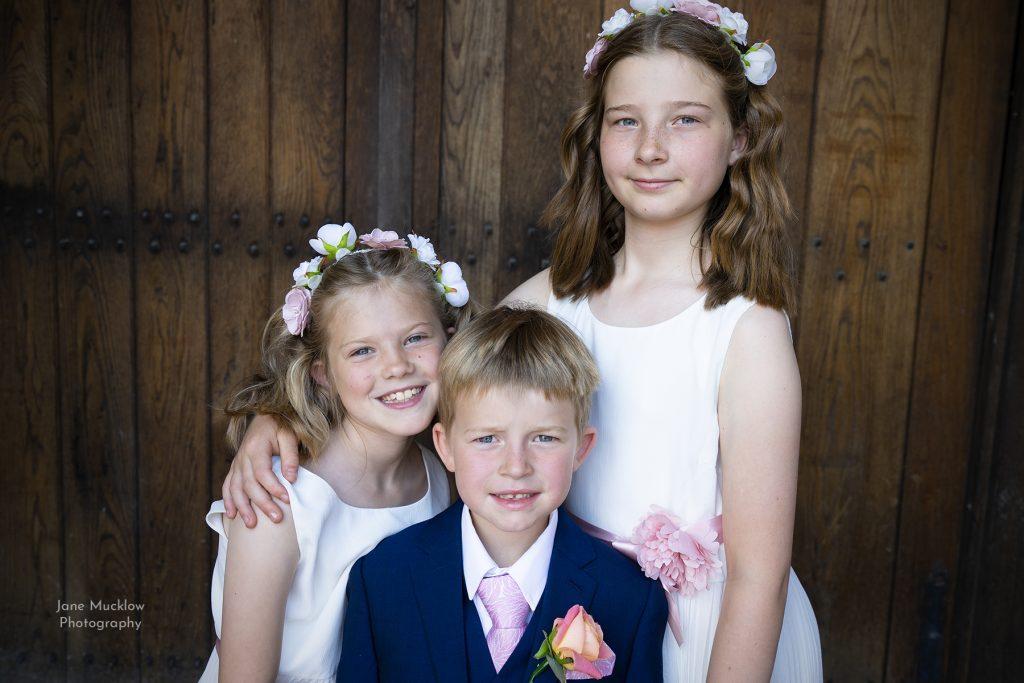 Her three children by Jane Mucklow