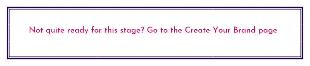 Go to the previous stage page on the website button