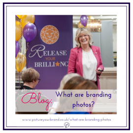 Featured image for blog post, What are branding photos, with photo of Aly Harrold by Jane Mucklow