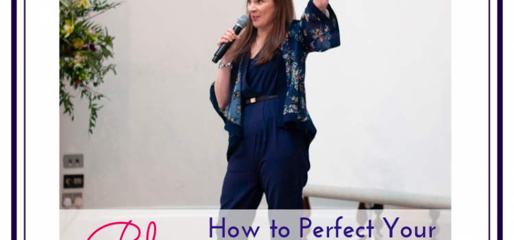 Blog picture for featured image, branding photo of Anna Parker-Naples by Jane Mucklow for how to perfect your elevator pitch blog.