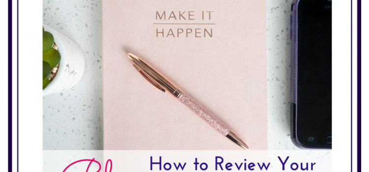 Blog picture for featured image, photo of a notebook and pen, by Jane Mucklow, for blog post on how to review your year.