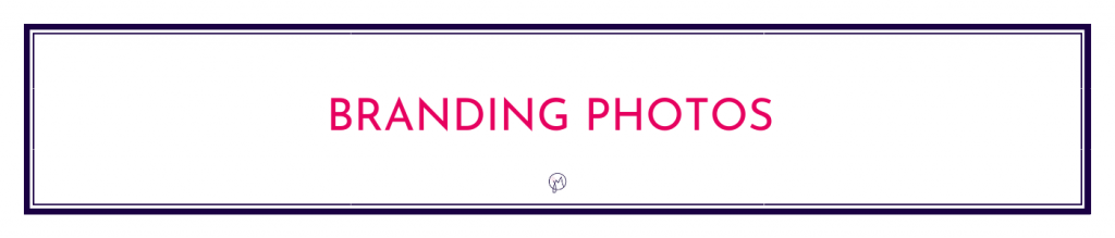 Button or page title for Branding Photos info by Jane Mucklow / Picture Your Brand