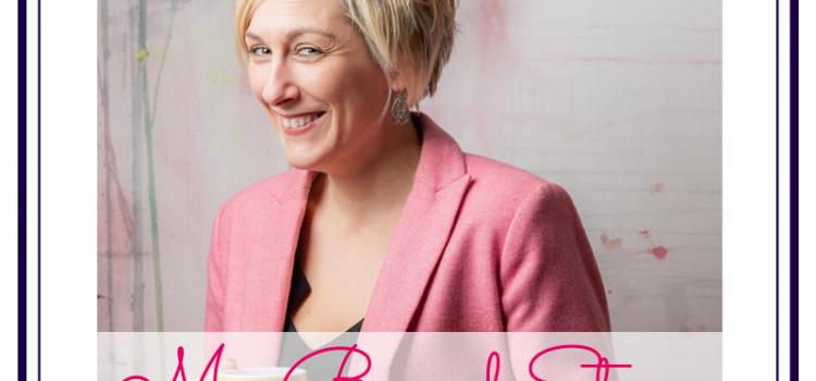 Featured image for blog post, My Brand Story with Karen Davies of Pink Lemon Branding & Design, photo of Karen