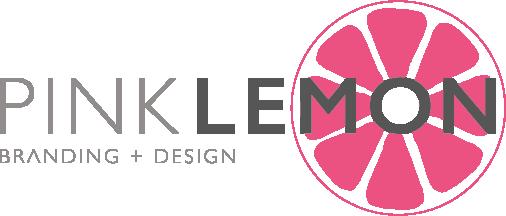 Pink Lemon Branding & Design Ltd logo