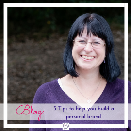 Featured Image for blog post on 5 Tips to build a personal brand, by Jane Mucklow