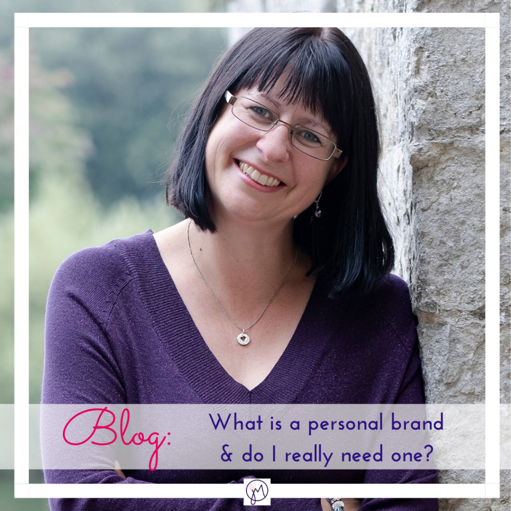 Featured Image for blog post on What is a personal brand, by Jane Mucklow