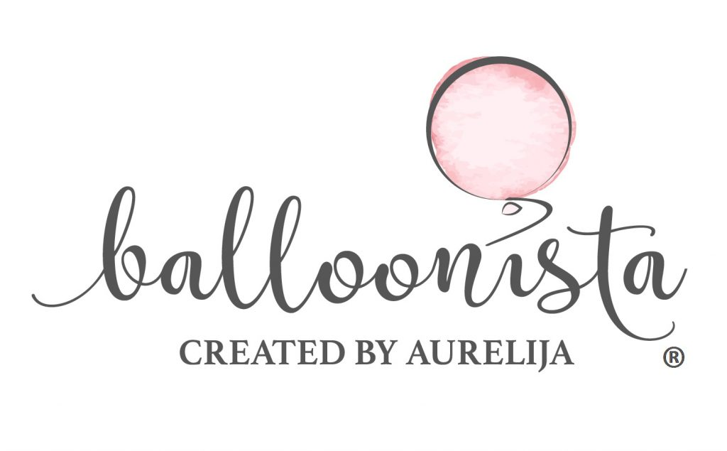 Logo for Balloonista by Aurelija for blog about her brand story for Jane Mucklow, Picture Your Brand.