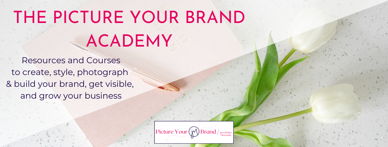 The Picture Your Brand Academy by Jane Mucklow, image title
