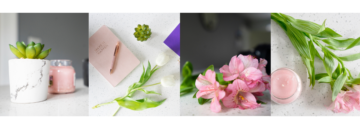 Examples of brand stock photos for the Basic to Brilliant online photography course, by Jane Mucklow Picture Your Brand