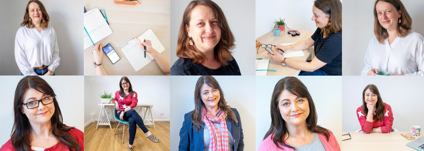 Headshot photo examples by Jane Mucklow Picture Your Brand