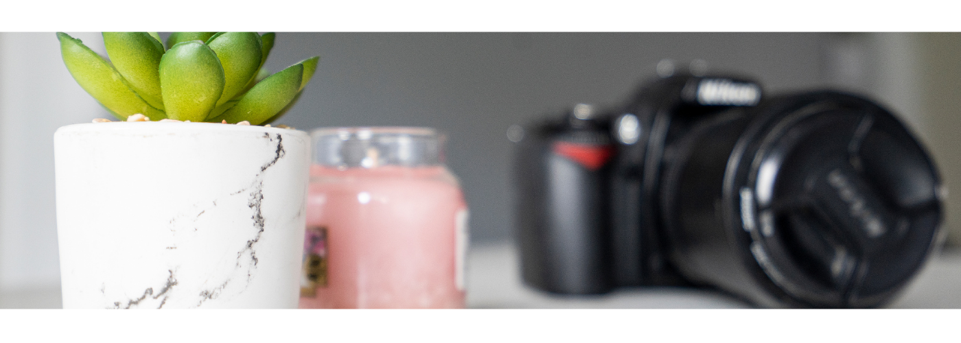 Photo of a cactus, candle and camera for how do I build a personal brand blog by Jane Mucklow Picture Your Brand