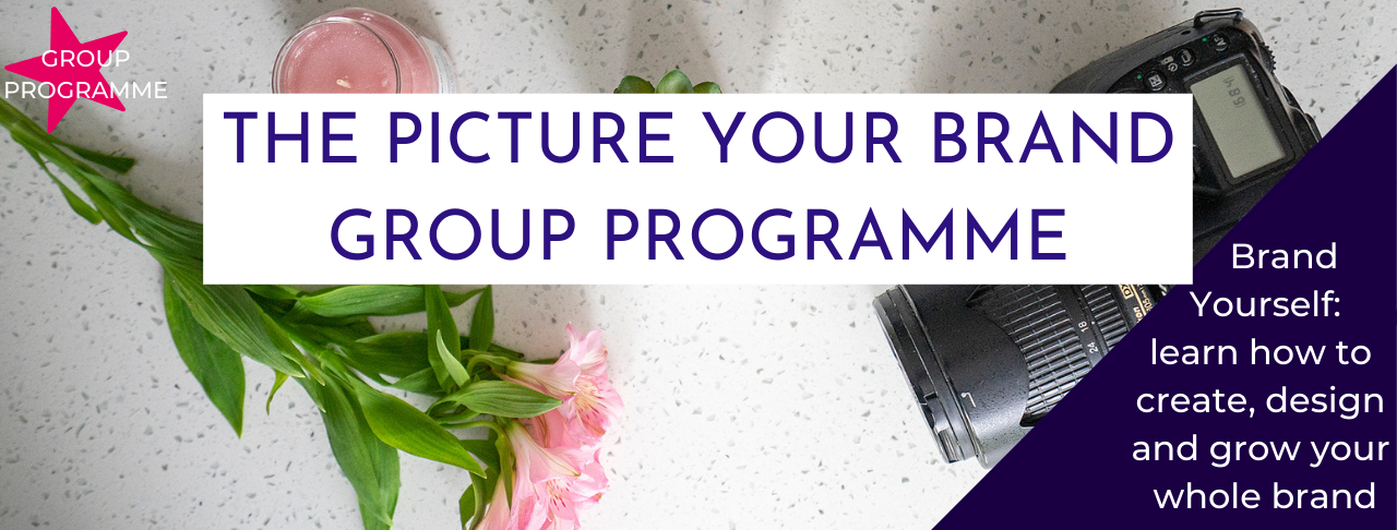 Jane Mucklow Picture Your Brand, The Picture Your Brand Group Programme image