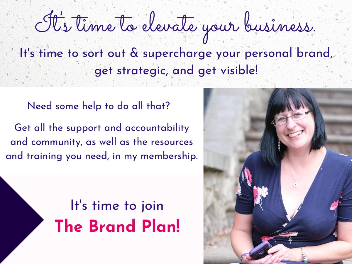 The Brand Plan membership info graphic 1